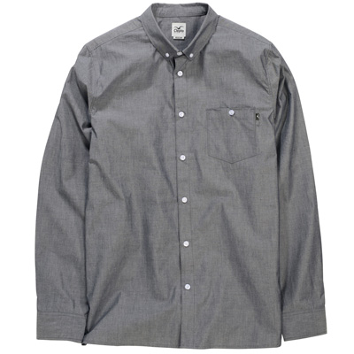 CLEPTOMANICX Shirt DENIM black
