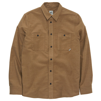 CLEPTOMANICX Shirt WORK beige