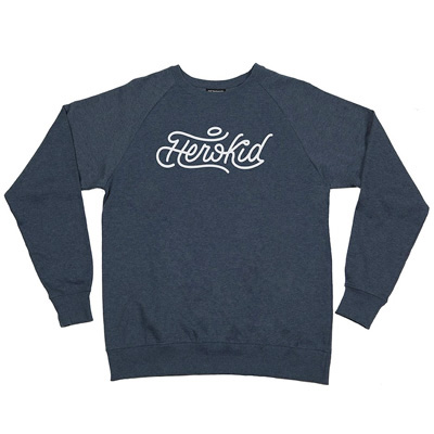 HEROKID Sweater SIGNATURE heather navy