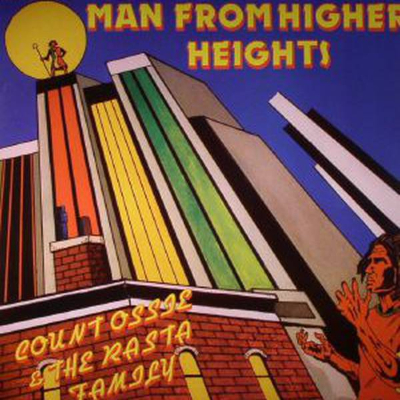Count Ossie & The Rasta Family - Man From Higher Heights - Lp (I