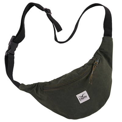 CLEPTOMANICX Hipbag C.I. PATCH dark olive