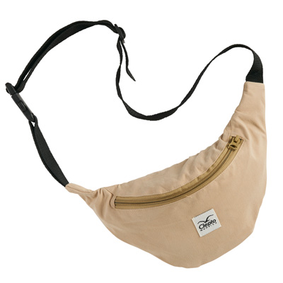 CLEPTOMANICX Gürteltasche C.I. PATCH warm sand