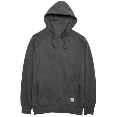 CLEPTOMANICX Ninja Hoody JONIN heather dark grey
