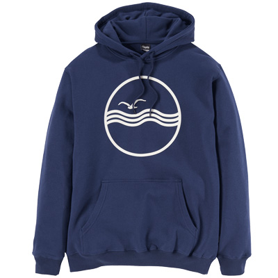 CLEPTOMANICX Hoody SEA GULL dark navy