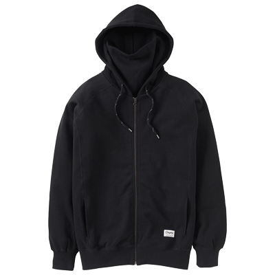CLEPTOMANICX Ninja Hooded Zipper JONIN black