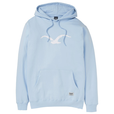 CLEPTOMANICX Hoody MÖWE light blue/white