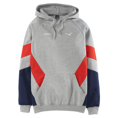 CLEPTOMANICX Hoody THAT IS THAT 2 heather grey