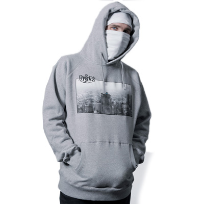 1UP Hoody BANGKOK heather grey