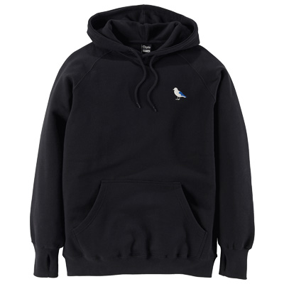 CLEPTOMANICX Hoody EMBRO GULL black