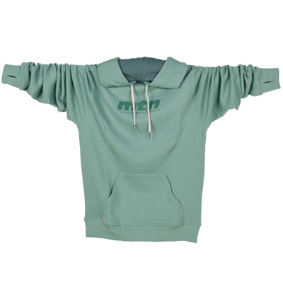MONTANA COLORS Hoody MTN LOGO green
