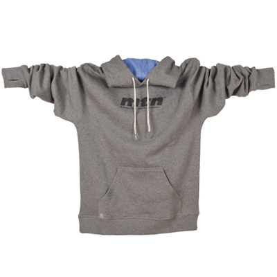 MONTANA COLORS Hoody MTN LOGO heather grey