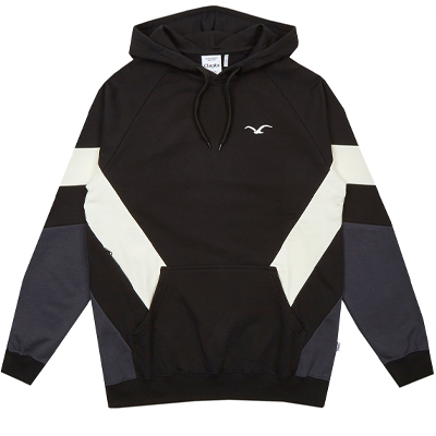 CLEPTOMANICX Hoody THAT IS THAT 2 black/new creme