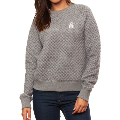REBEL8 Girl Sweater HOOKUP gunmetal