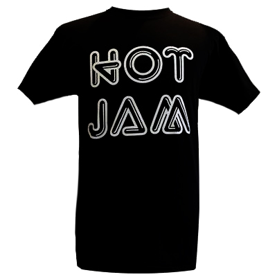 HOT JAM T-Shirt LOGO black/silver