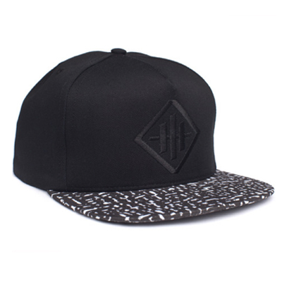HUF Snap Back Cap HAZE black