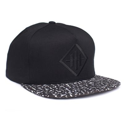 5d3ed08631626 HUF Snap Back Cap HAZE black
