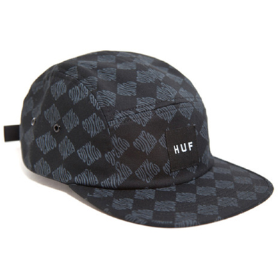 HUF 5Panel Cap LUXE black