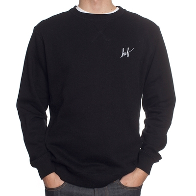 HUF Sweater CADET LOGO black