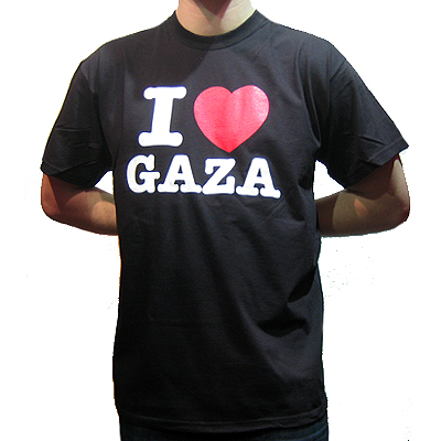 I LOVE GAZA T-Shirt black