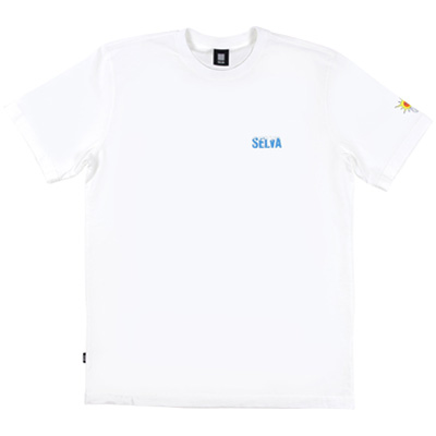 SELVA T-Shirt ICY white