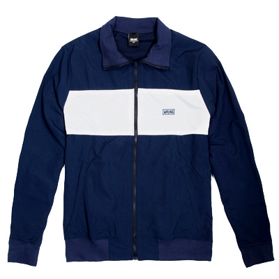 WRUNG Track Jacket IDEAL navy/white
