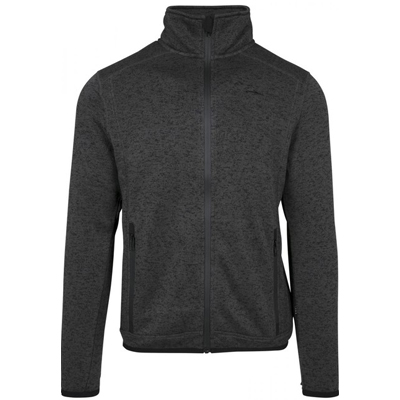 ILLMATIC Zip Sweater MINGO heather charcoal
