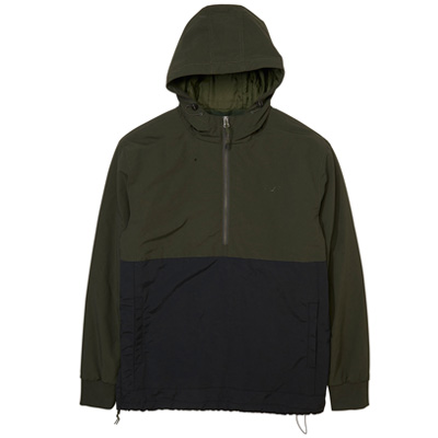 CLEPTOMANICX Winter Jacket CITYHHHOODED dark olive/black