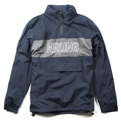 WRUNG Anorak Jacket MIST navy/grey