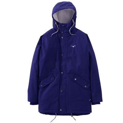 CLEPTOMANICX Winter Jacket SPOTTER clematis blue