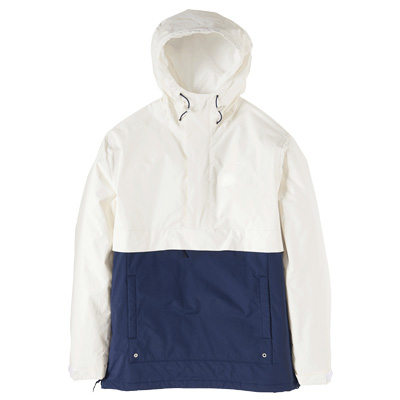 CLEPTOMANICX Winter Jacket CITYHHHOODED creme/navy