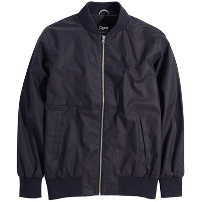 CLEPTOMANICX Jacke UTAS heather dark navy