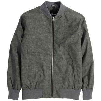 CLEPTOMANICX Jacket UTAS heather grey
