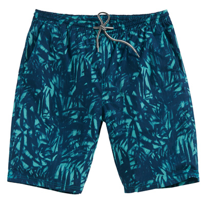 CLEPTOMANICX Board Shorts JAM PATTERN dusty turquoise