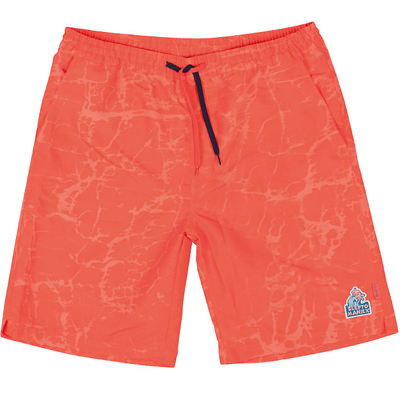 CLEPTOMANICX Board Shorts JAM hot coral