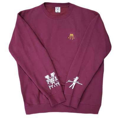 JDP X PXA Sweater CROWN burgundy