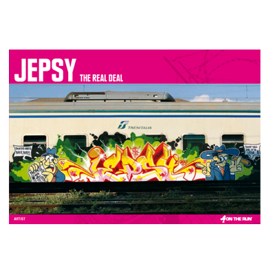 OTR Buch JEPSY - THE REAL DEAL