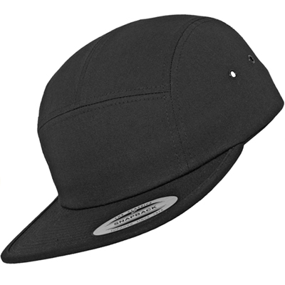 FLEXFIT 5Panel Cap CLASSIC JOCKEY uni black