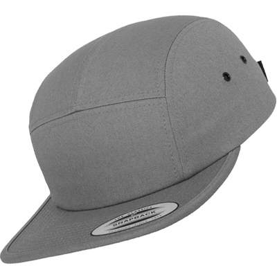 FLEXFIT 5Panel Cap CLASSIC JOCKEY uni dark grey