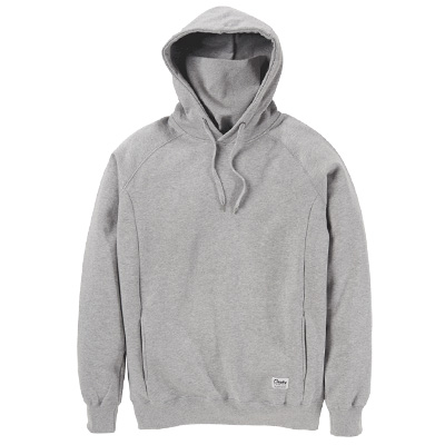 CLEPTOMANICX Ninja Hoody JONIN heather grey