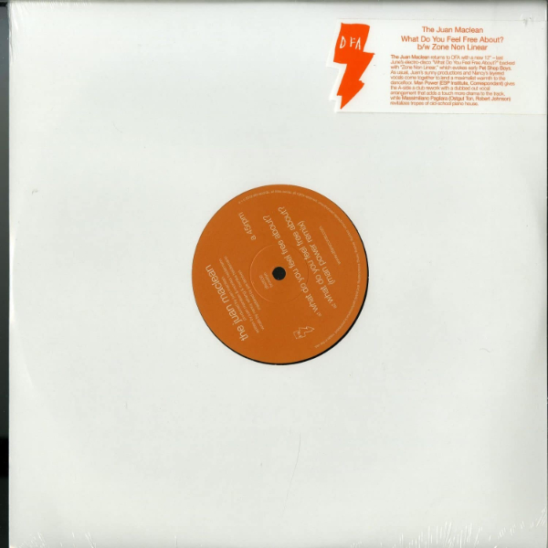 The Juan Maclean - What Do You Feel Free About? - Vinyl 12""