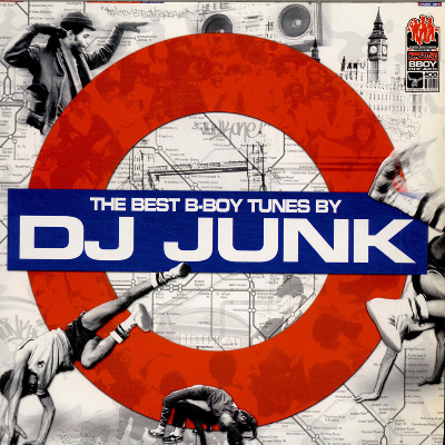 Dj Junk - The Best B-Boy Tunes By Dj Junk - 2xLp