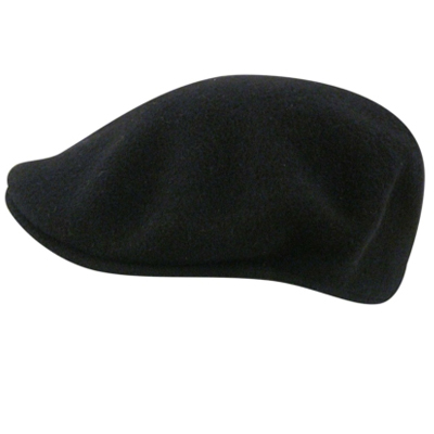KANGOL Flat Cap WOOL 504 dark blue