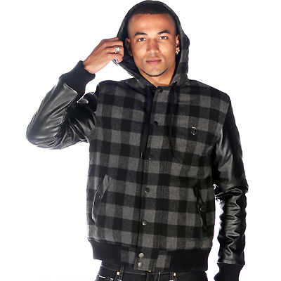 WRUNG Jacket KARO black