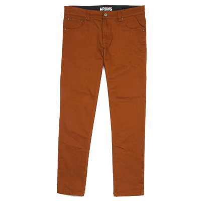 WRUNG Pants KEITH ocher