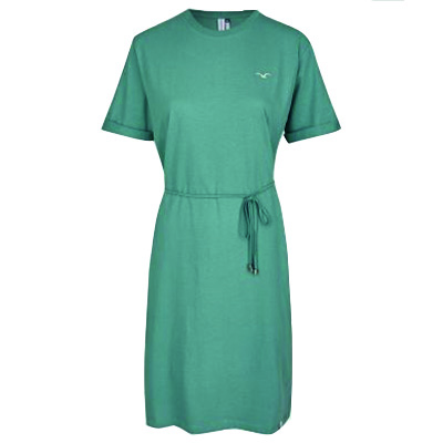 CLEPTOMANICX Girl Dress FEEL GOOD north atlantic green