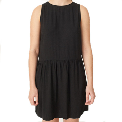 CLEPTOMANICX Girl Dress EASY black