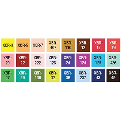 Sakura - SAKURA KOI Coloring Pinselmarker 24er Set Color Layup ...