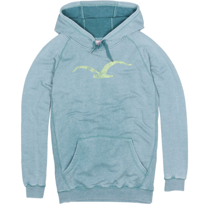 CLEPTOMANICX Girl Hoody KOSMO heather spruce green