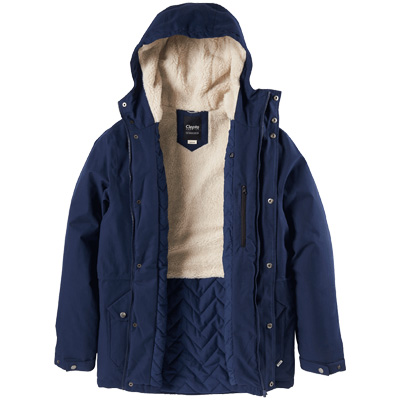 CLEPTOMANICX Winter Jacket LARUM navy