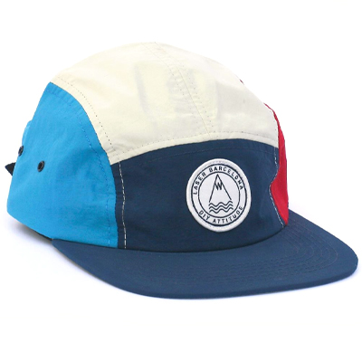 LASER 5Panel Cap BARCELONETA navy/ivory/red/blue